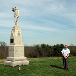 153rd Pennsylvania Infantry Regiment monument