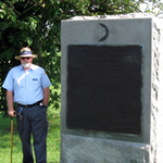 Stuart at 11th corps monument