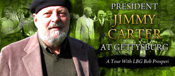 President Jimmy Carter at Gettysburg