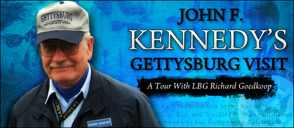 John F. Kennedy's Gettysburg Visit