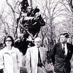 Kennedy at the North Carolina State Monument