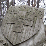 7th Maine Infantry Regiment monument