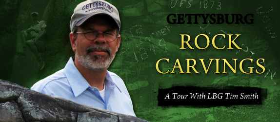 Gettysburg Rock Carvings