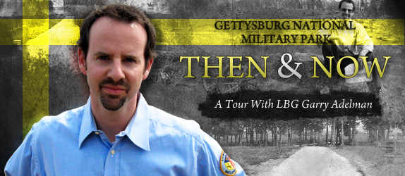 Gettysburg Military Park: Then & Now