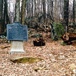 Path to summit of Big Round Top